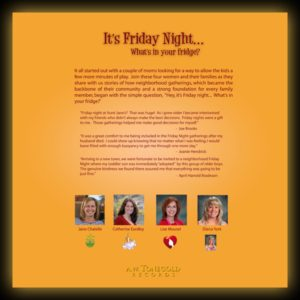 Friday CD - Back Cover